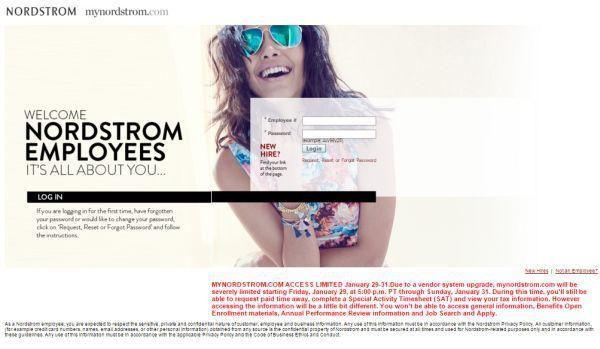MyNordstrom Nordstrom Employees Portal Login to know