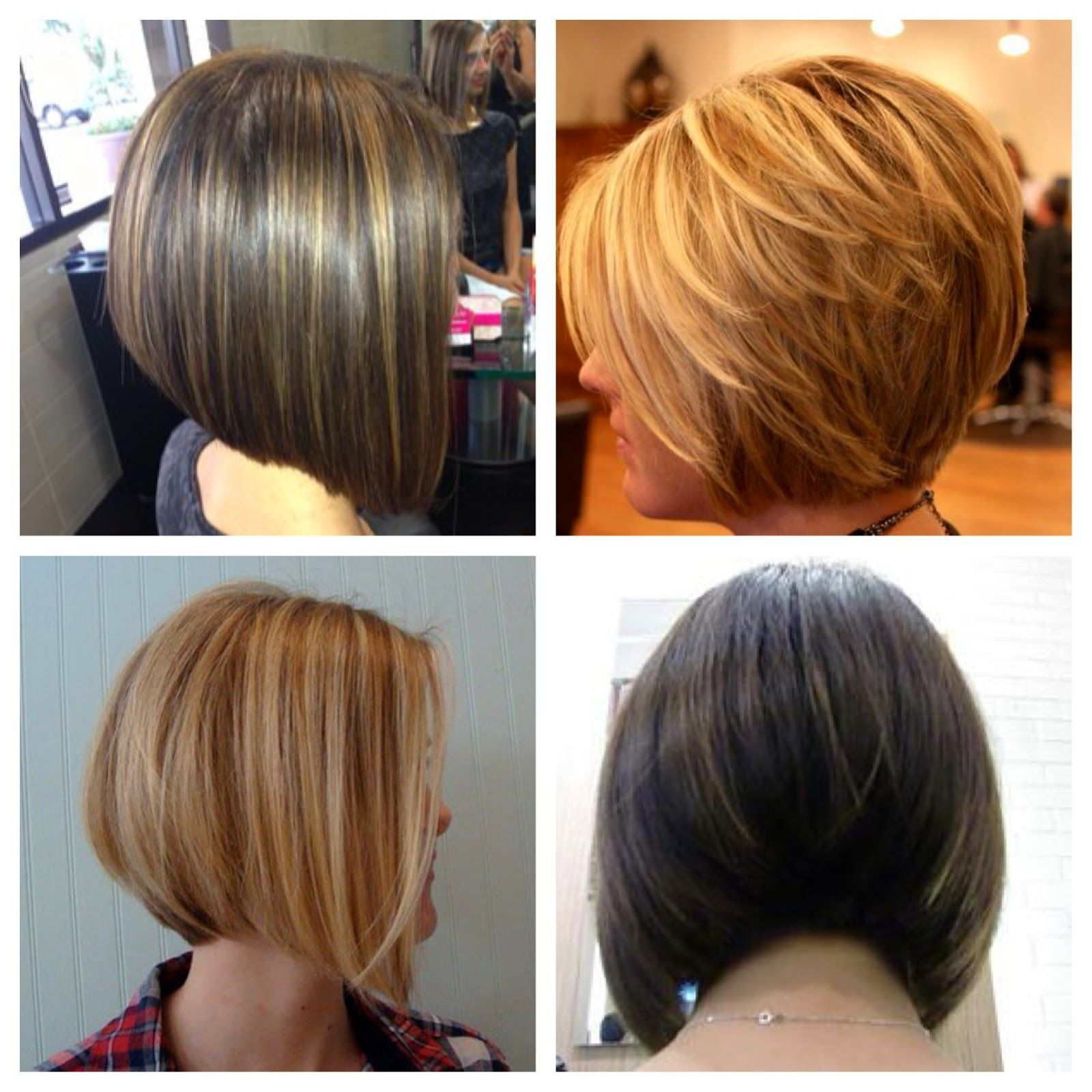 concave bob back view of stacked bob haircut trendy graduated a line bob google search inverted bob