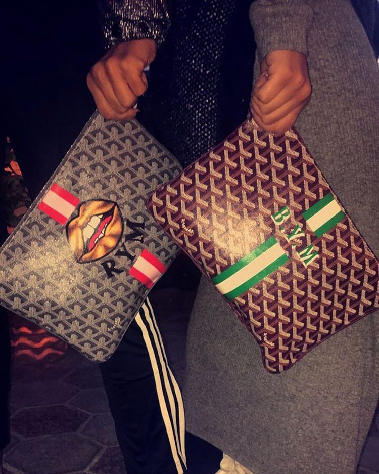 Goyard Pouches Goyard Tote With Initials Pinterest Pouches - Invoice template word free goyard online store