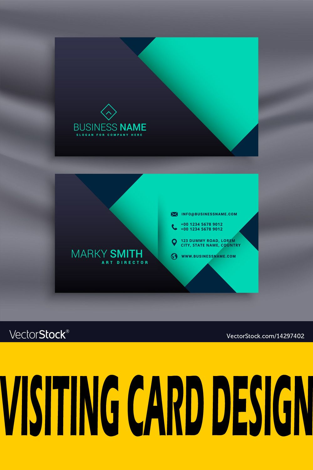 Visiting Card In 2020 Visiting Cards Visiting Card Design Business Card Design Software