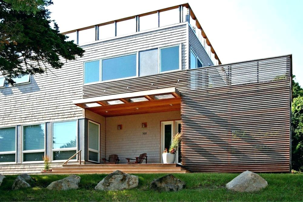 modern house with porch - Google Search | Cape house ...