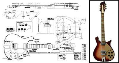12a24a1f1 Rickenbacker 660® Electric Guitar Plan | THE GUITARS in 2019 ...