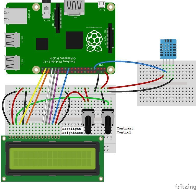 wiring diagram for setting up the dht11 humidity and temperature  wiring diagram for setting up the dht11 humidity and temperature sensor on the raspberry pi with
