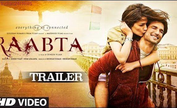 Raabta Official Trailer    Sushant Singh Rajput & Kriti Sanon