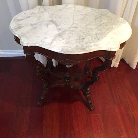 Antique Marble Table Top Very Old Very Good Condition Marble Was