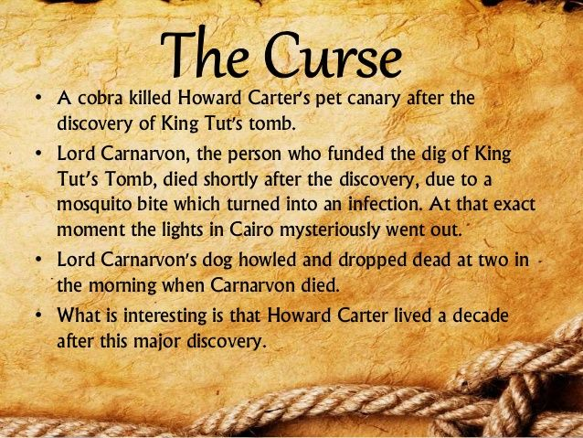 Howard Carter's Pet Canary After