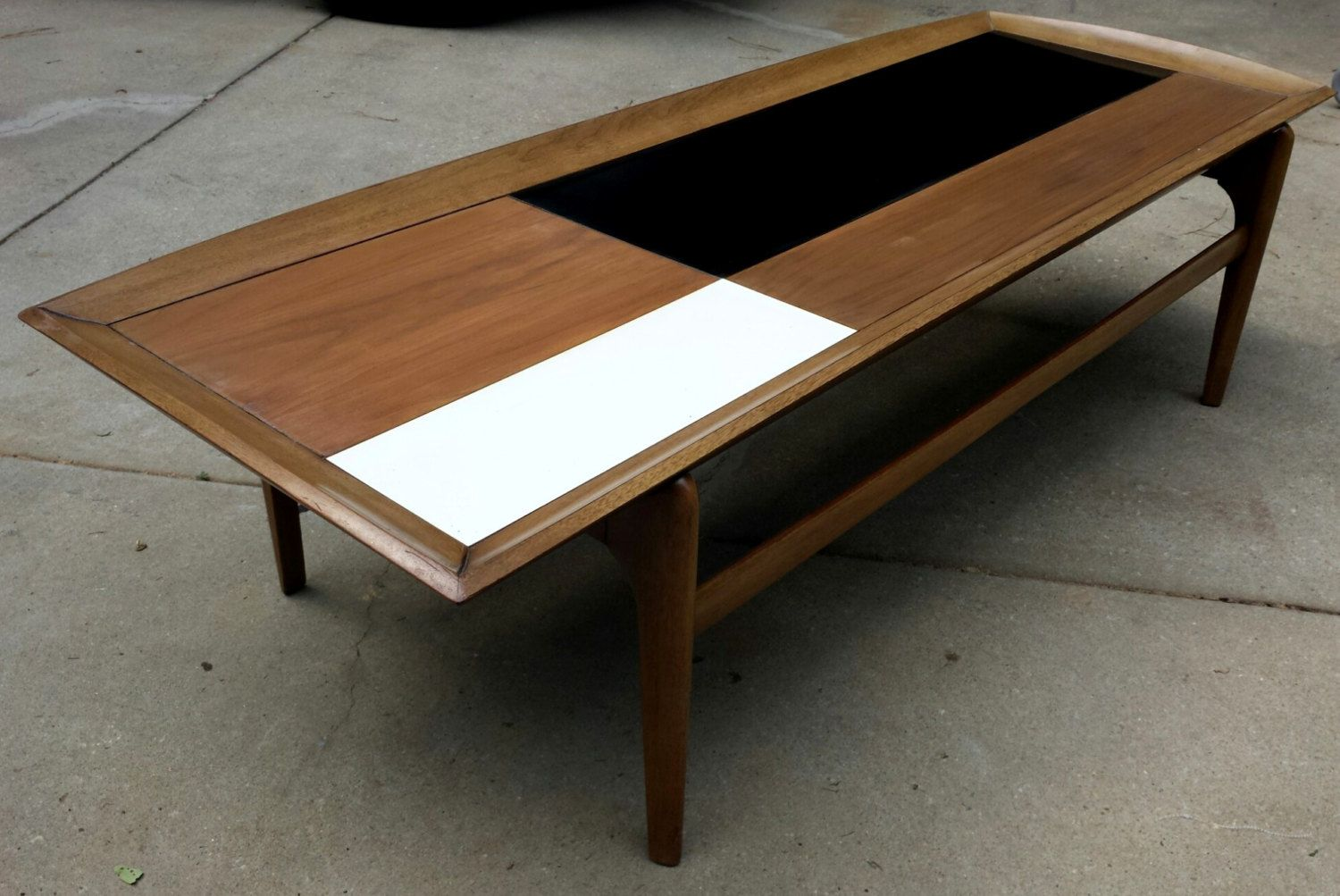 Mid Century Coffee Table Black White Top Gordon 39 S Furniture Mid Century Coffee Table Coffee Table Black And White Tops [ 1003 x 1500 Pixel ]