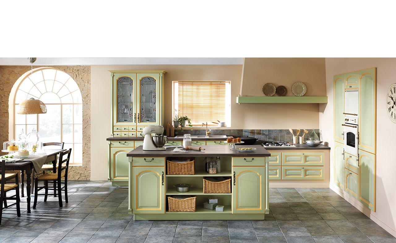 cuisine classic bois lully cuisine cuisine verte. Black Bedroom Furniture Sets. Home Design Ideas