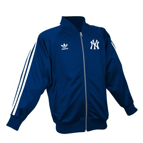 Navy blue womens track jacket