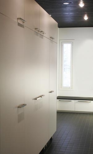 Kodinhoitohuoneen säilytyskalusteet  #finishdesign © AX-Design Oy, Finland