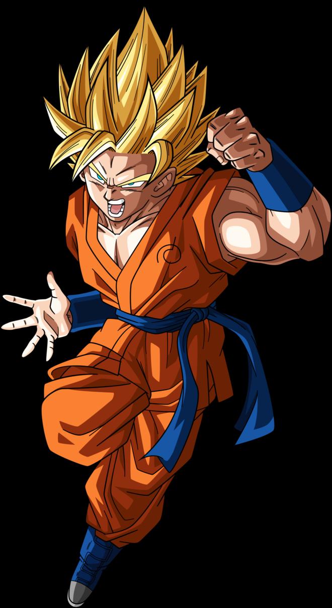 Ssj2 Goku Dragonball Super 2 Alt Palette 3 By Rayzorblade189 Seni