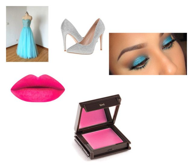 """Blue"" by puppylover123456 ❤ liked on Polyvore featuring beauty, Lauren Lorraine and Jouer"
