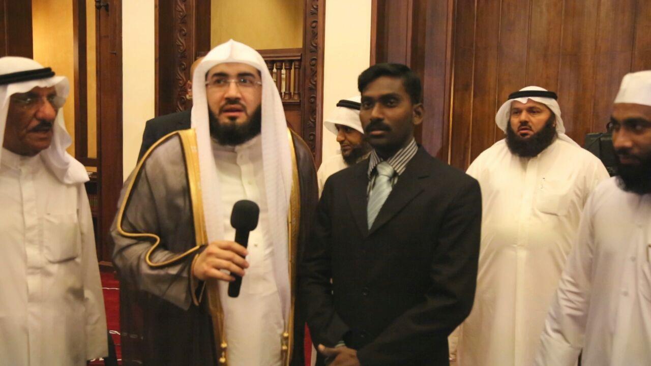 التعريف بالإسلام تحتفل بإشهار إسلام سيلاني بمسجد الراشد بالعديلية مع إمام الحرم المكي بندر بليلة وبحضور العم سعود الراشد Nun Dress Fashion Index