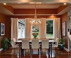 Dining room - curtain idea for triple windows