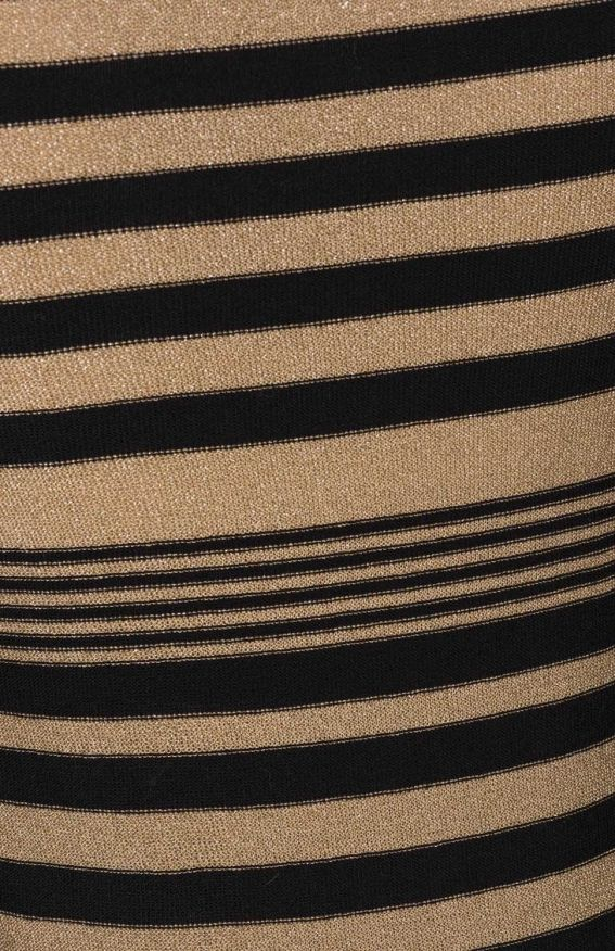 Lurex striped fitted sweater - sonia rykiel