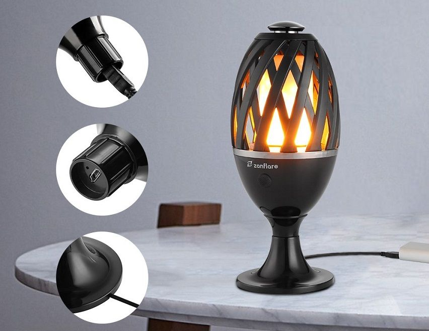 Led Flame Atmosphere Table Lamp 45 Off Today Only Lamp Table Lamp Led