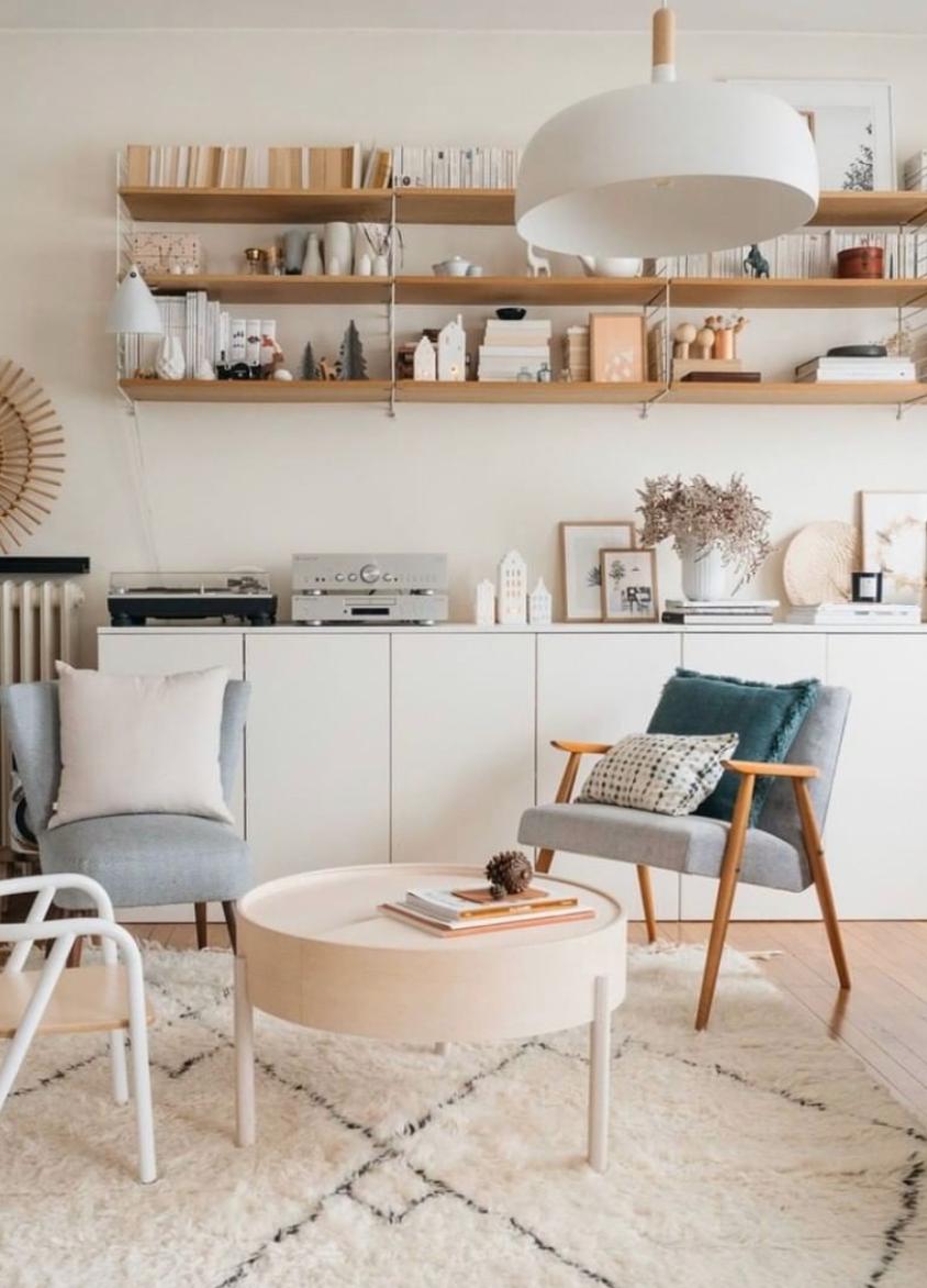Salon cosy : idée déco pour un salon chaleureux et lumineux en