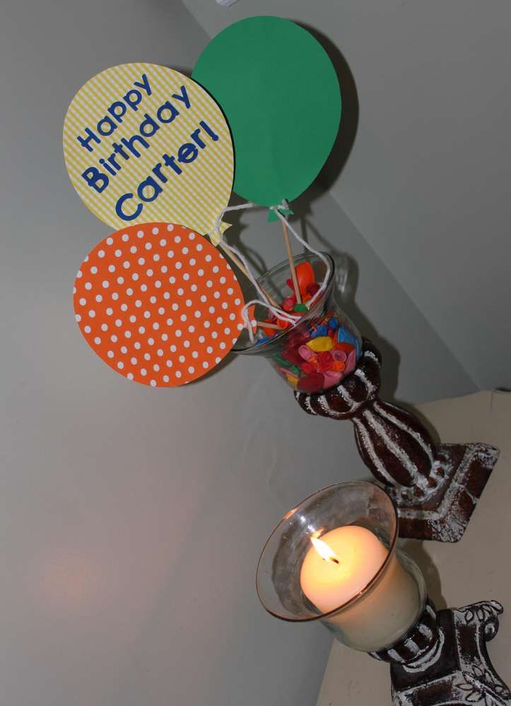 Balloon's Birthday Party Ideas | Photo 7 of 11 | Catch My Party