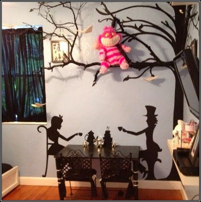 Alice In Wonderland Room Decorating Ideas   Home Decoration .