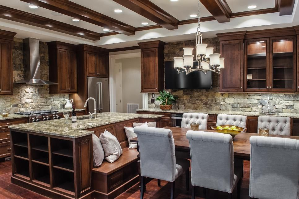 Kitchen Ideas Design Styles And Layout Options Hgtv Kitchen Island Table Transitional Kitchen Design Kitchen Island With Seating