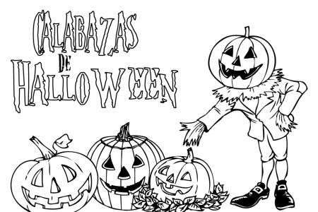 Dibujos De Halloween Para Colorear Que Den Miedo Halloween