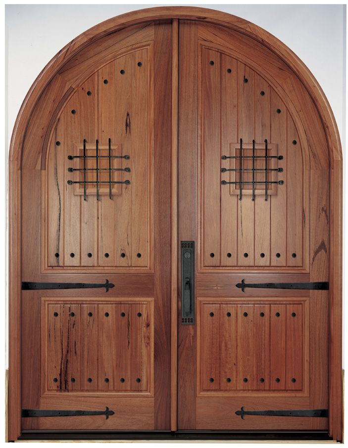 We offer Top Quality Mahogany Doors Iron Doors and Custom Doors to Atlanta GA for less. If your looking for a mahogany door we have it. & arced doors studded | Doors | Pinterest | Doors Door studs and ...