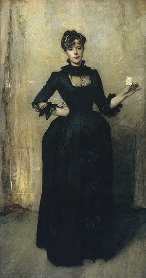 Lady with the Rose (Charlotte Louise Burckhardt), 1882  John Singer Sargent (American, 1856–1925)
