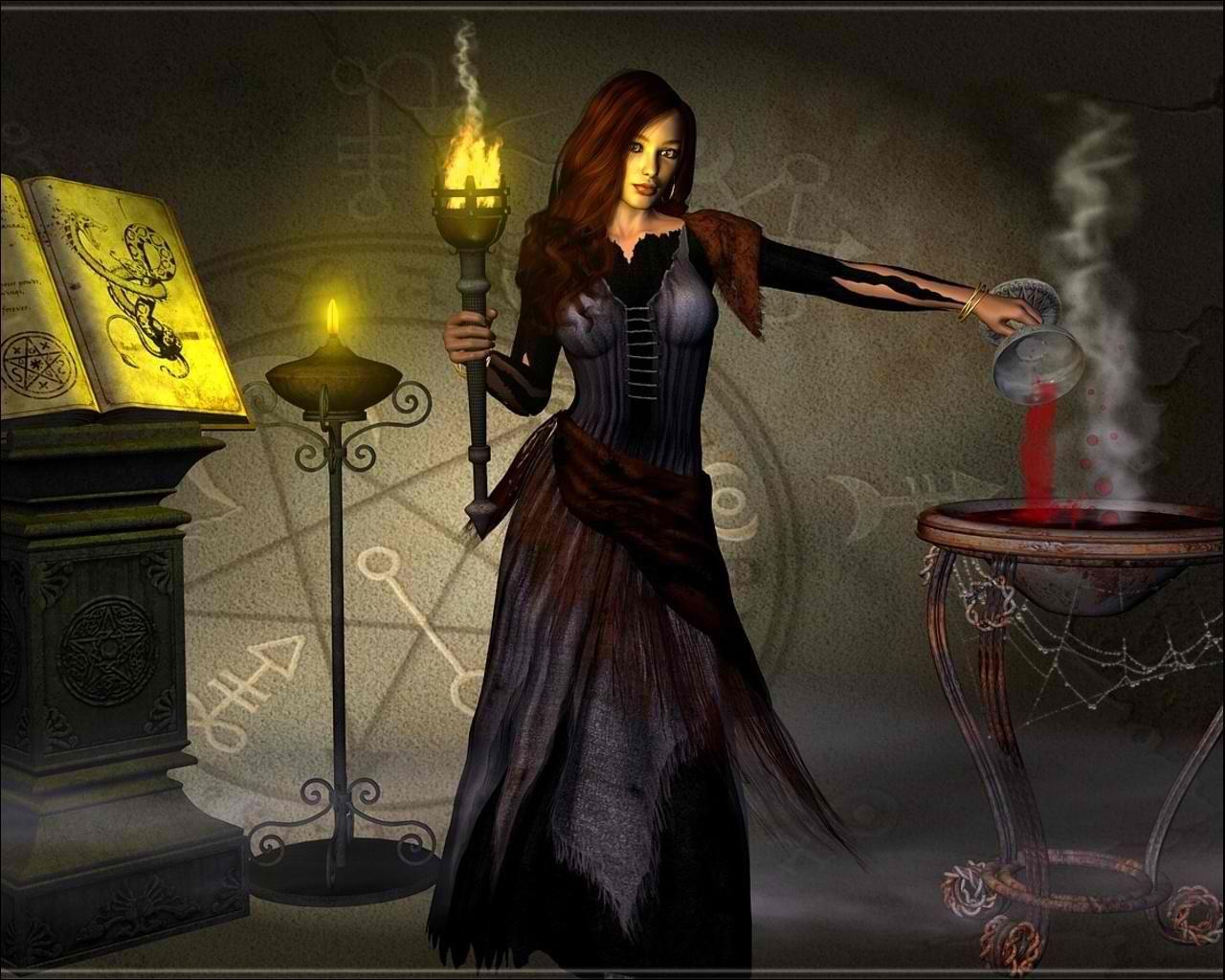 witch fantasy occult dark art artwork magic wizard mage