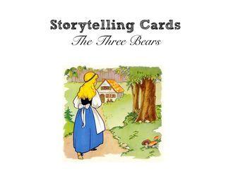 FREE Goldilocks and the Three Bears Storytelling Cards!