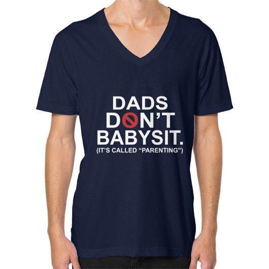 DAD DONT V-Neck (on man)