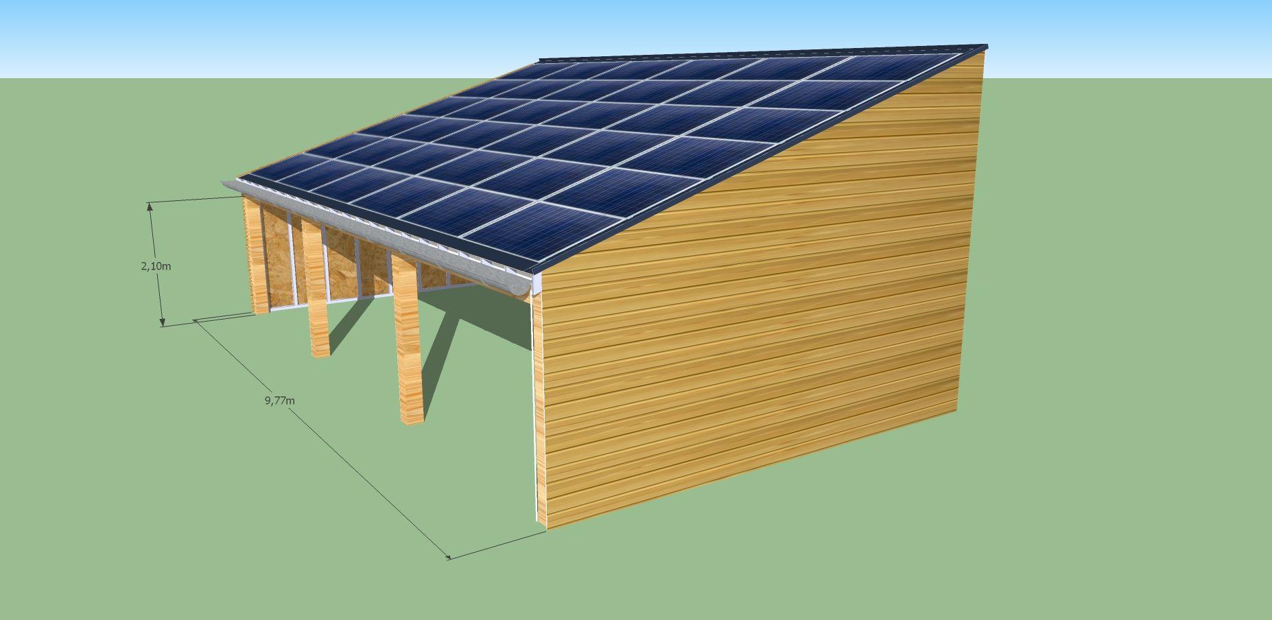 charpente solaire