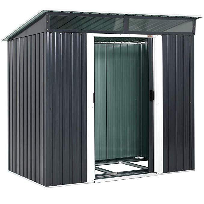Gardebruk L Metall Gerätehaus 3,4m³ mit Fundament