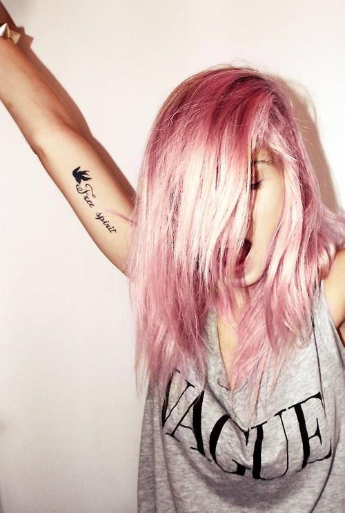 Glam rock Cabelos coloridos Couleur cheveux tendance