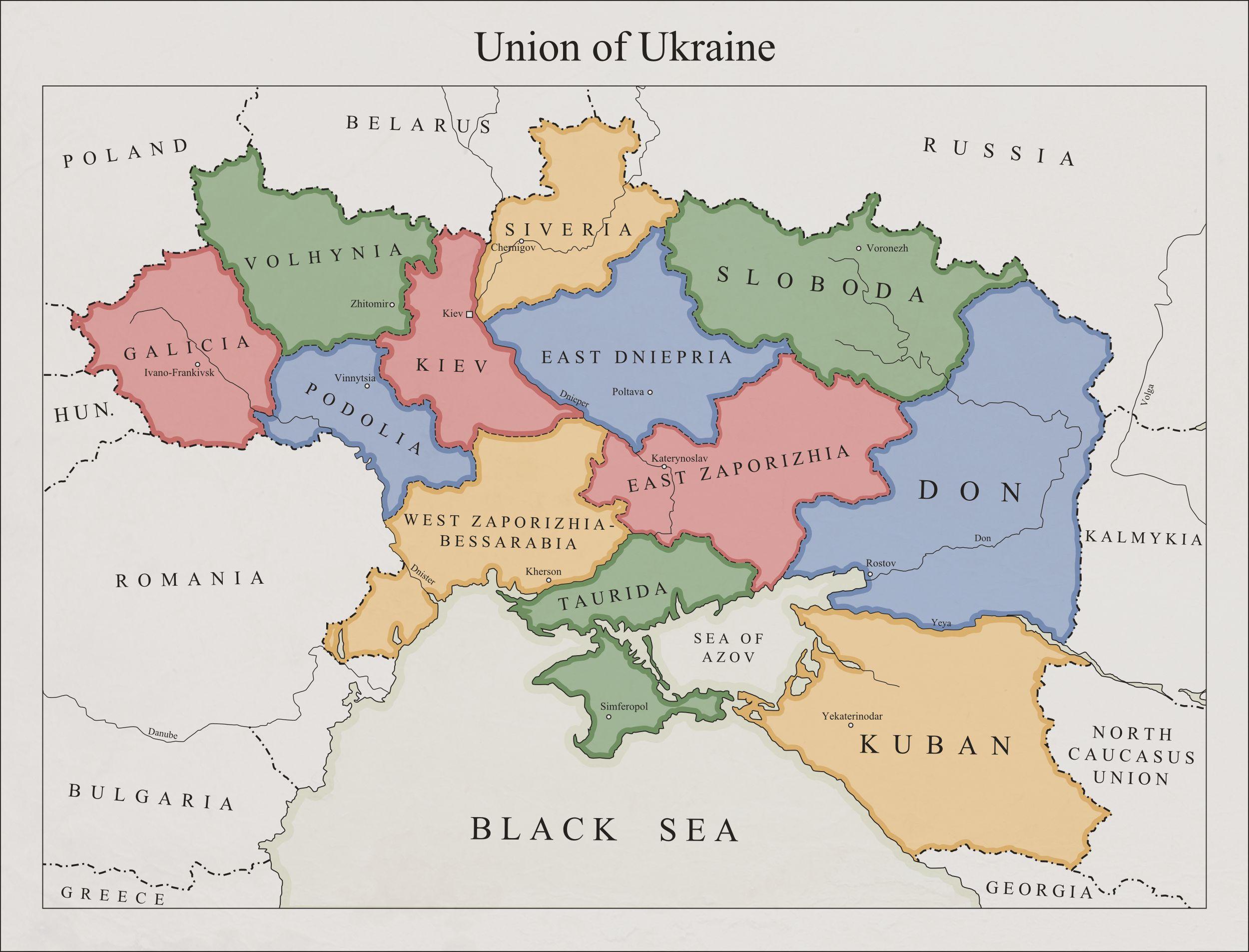 Pin by Vołodymyr Kostećkyj on Mapy | Karten | Ukraine ...