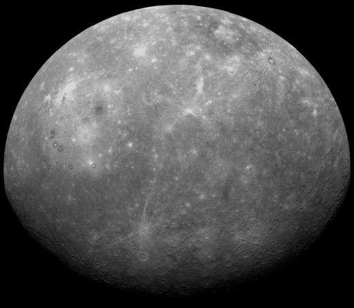la planete mercure information