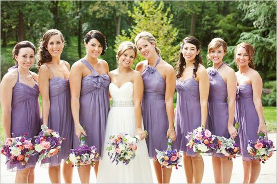 Vestidos damas de honor dia