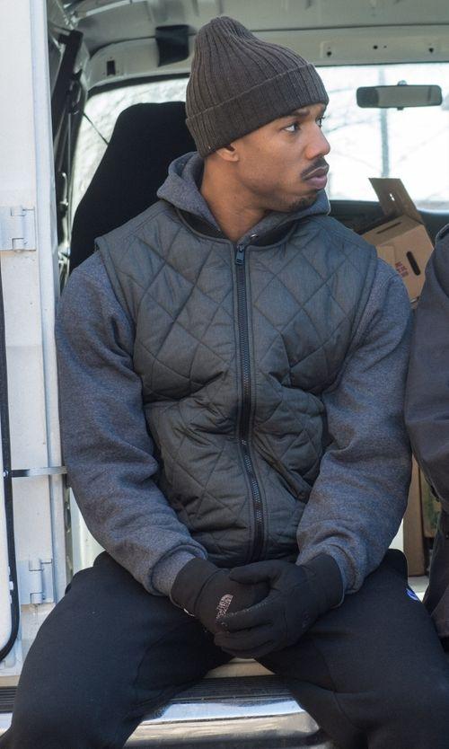 8ee30814495524 Nike Downtown 550 Full-Zip Vest as seen on Adonis Johnson in Creed ...