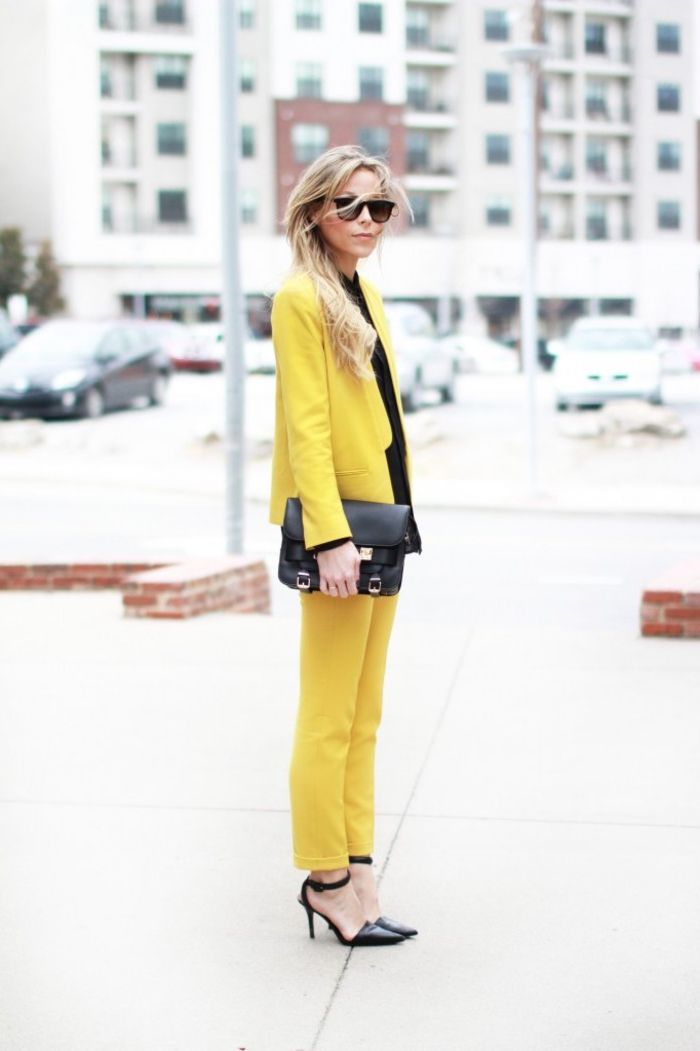 1001 looks tendance en tailleur femme chic mode femme pinterest tailleur pantalon femme. Black Bedroom Furniture Sets. Home Design Ideas