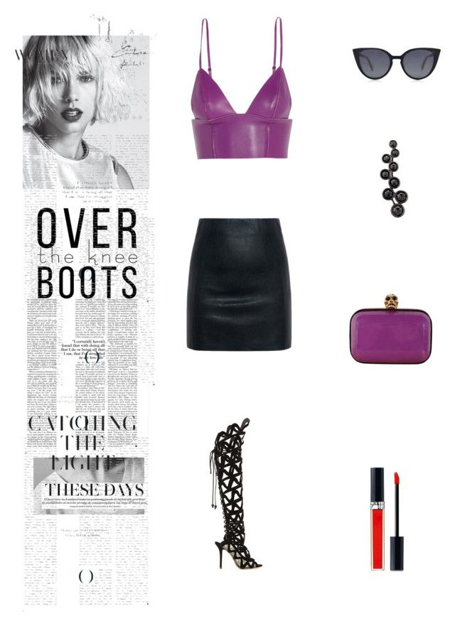 """Untitled #253"" by eceerturk ❤ liked on Polyvore featuring T By Alexander Wang, Fendi, McQ by Alexander McQueen, Sophia Webster, Alexander McQueen, Alinka and Christian Dior"
