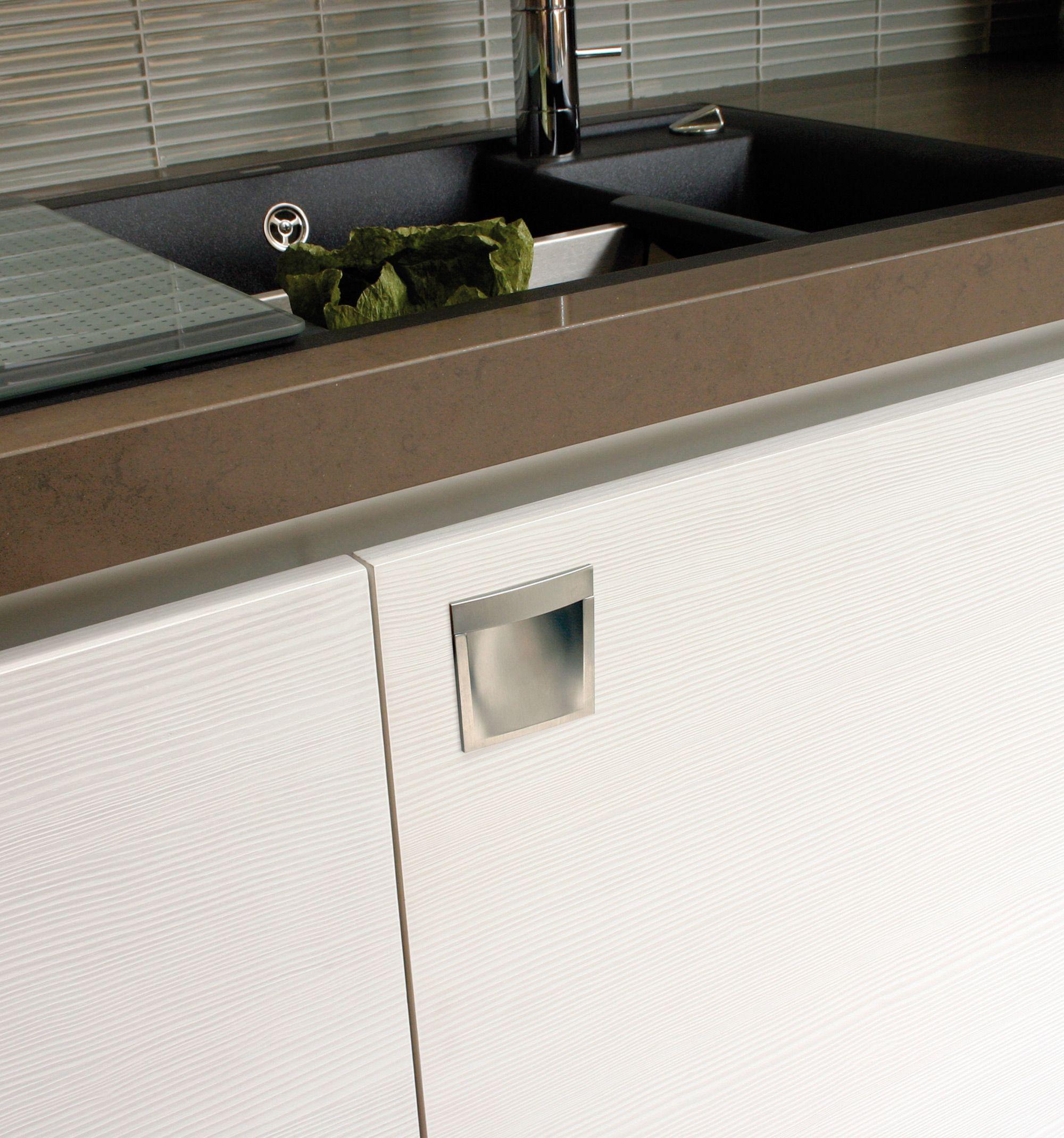 Se trata de un tirador placa o u ero para puerta de - Tiradores de cocina modernos ...