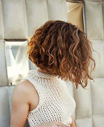 30 Neue Curly Bob Frisuren 2017 2018 Neue Besten Frisur Curly Hair Styles Short Curly Hair Curly Bob Hairstyles