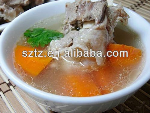 1.Bone soup flavor  2.for Cooked meat,compound seasonings,puffed food,  3.good effect with just a little additives  4.HACCP,ISO