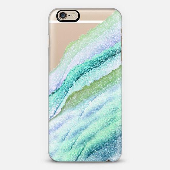 FLAWLESS WAVES LIMETTO by Monika Strigel iPhone 6 case by Monika ...