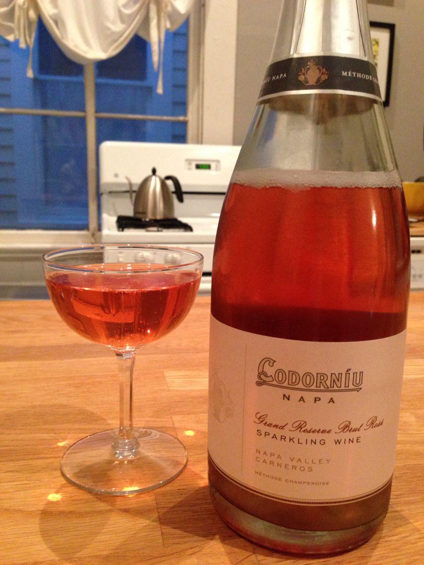 Champagne Sparking Rose From Artesa Amaze Napa Rose Wine Bottle Wine Bottle Wine
