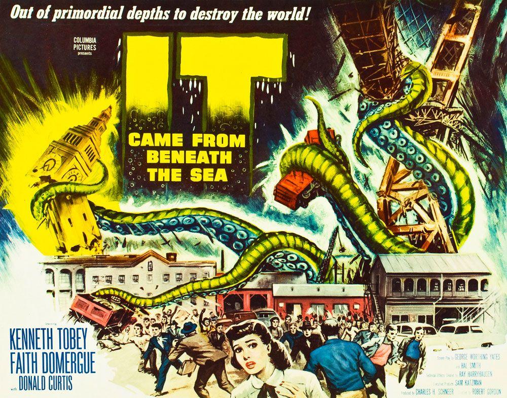 Surgió del fondo del mar (1955) DVD | clasicofilm / cine online