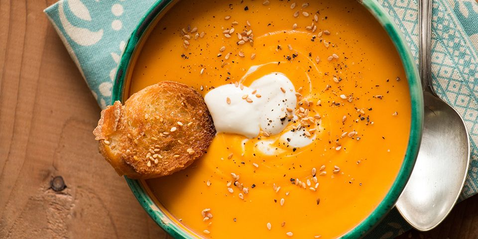 Recipe For Butternut Squash Soup With Ginger