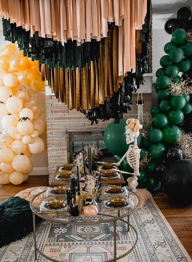 Boho Halloween Party Inspired by 'Friends' -   22 boho halloween decor