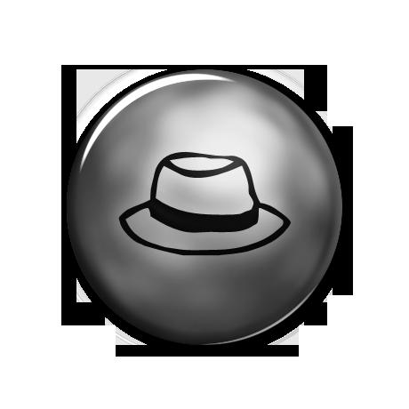 Simple Hat (Hats) Icon #067092 » Icons Etc