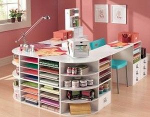High Quality 5 Craft Room Ideas For Small Spaces. And, I Love This Idea For Creating
