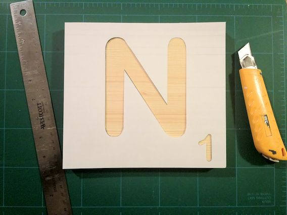 DIY Scrabble Tiles   Scrabble tiles, Scrabble and Craft